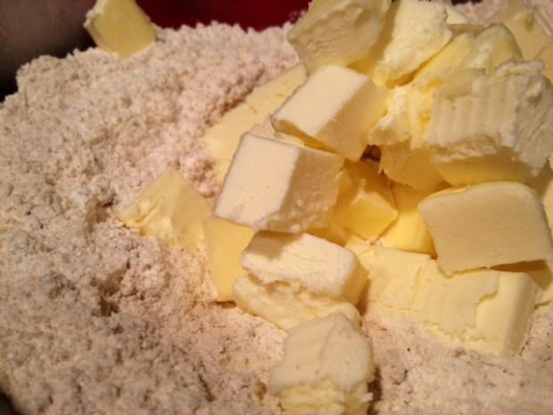 brown sugar oat strawberry shortcake butter