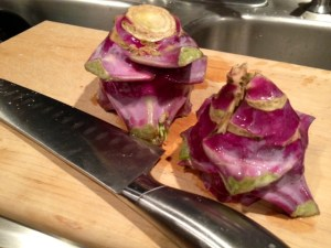 kohlrabi fries whole