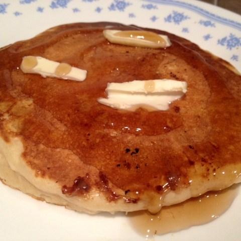 Bourbon Banana Pancakes