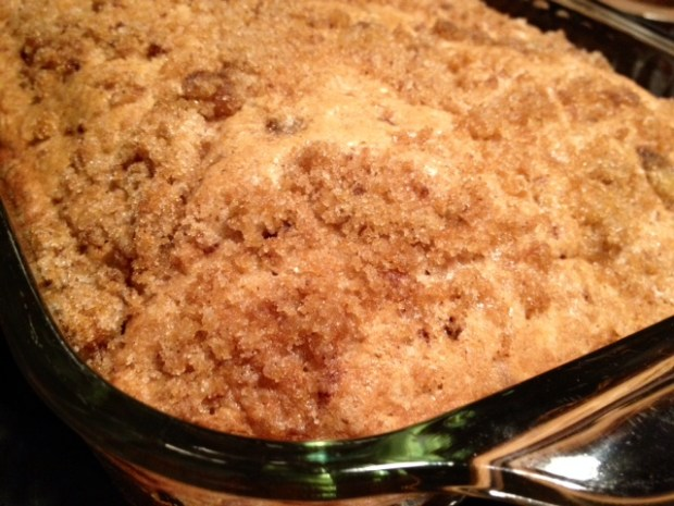 Apple Cinnamon Chip Coffee Cake
