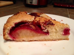 Plum Torte from smitten kitchen