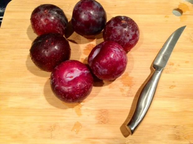 plum torte plums