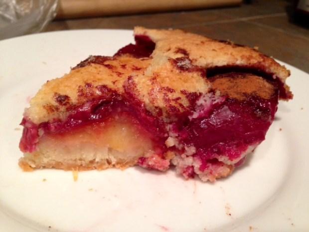 Plum Torte Sliced from smitten kitchen