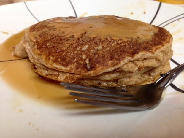 Buttermilk Pancakes finished