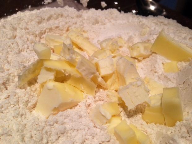 dreamy creamy scones butter