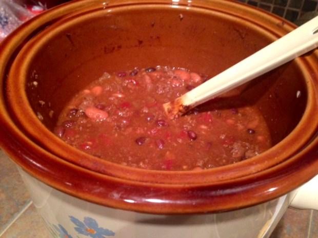 my chili done