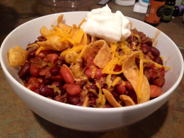 My Own Special Chili Finding Time For Cooking