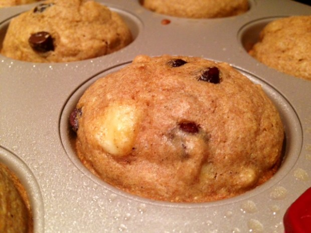 Banana Chocolate Coffee Muffin