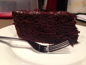 Chocolate Stout Cake with Chocolate Ganache
