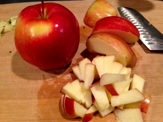 apple pie german pancake bowls apples chopped