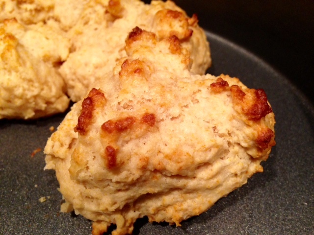 Easy Drop Biscuits from Outlander Kitchen - an easy Thanksgiving recipe option