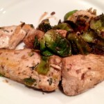 Balsamic Chicken and Brussels Sprouts