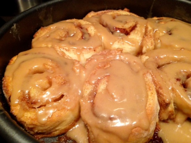 Cinnamon Rolls with Maple Frosting 3