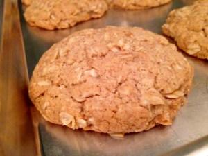 Oatmeal Cinnamon Cookies baked