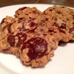 Maple Peanut Butter Chocolate Chip Oatmeal Cookies (Gluten-Free)