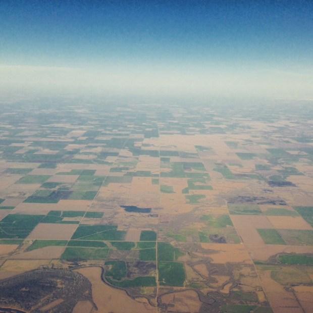 kansas from the sky