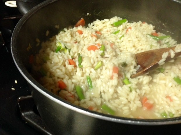 risotto primavera rice veggies 2