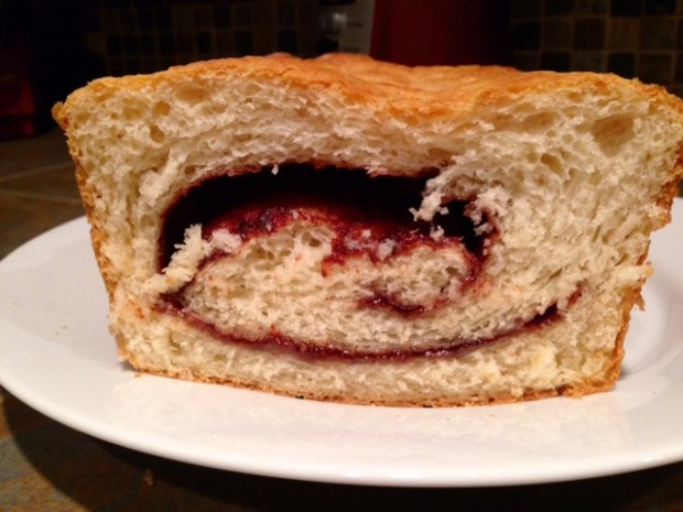 Cinnamon Swirl Bread done