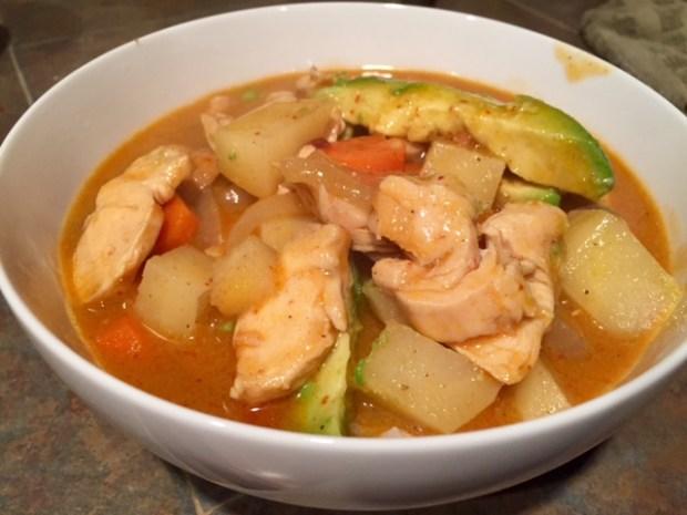 Massaman Curry with Chicken with Jasmine Rice