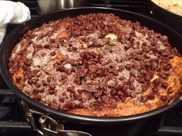 Espresso Chocolate Coffee Cake done