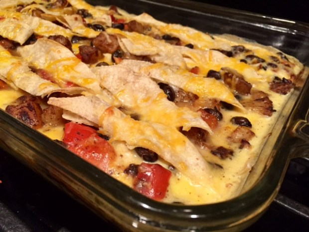Easy Tex Mex Breakfast Bake