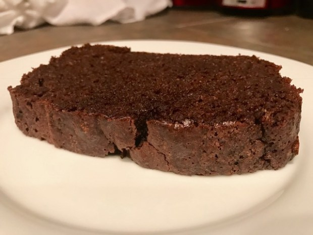 Chocolate, cinnamon, & almond loaf cake | Finding Time for Cooking