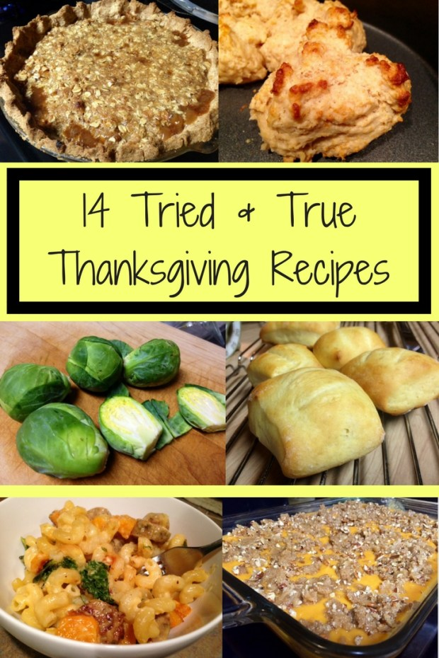 14 Thanksgiving recipes my family has used for years, tried & true side dishes, desserts, and breads you can use for your Thanksgiving feast #thanksgiving #recipes #familyrecipes