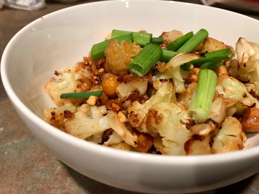 Korean Bbq Cauliflower Chickpeas Vegan Gluten Free