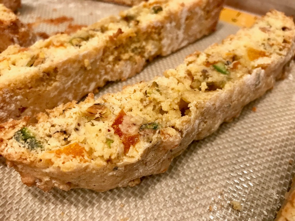 Orange, Apricot, & Pistachio Biscotti | finding time for cooking blog