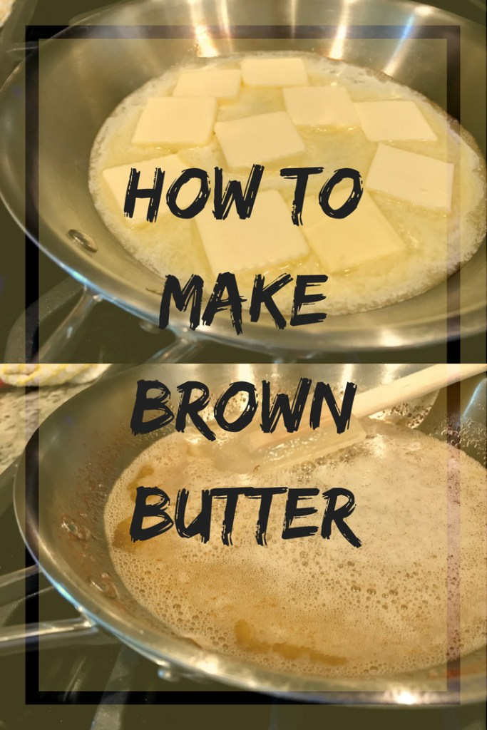 How to brown butter | easy steps for making browned butter, and what it should look like at every stage | finding time for cooking