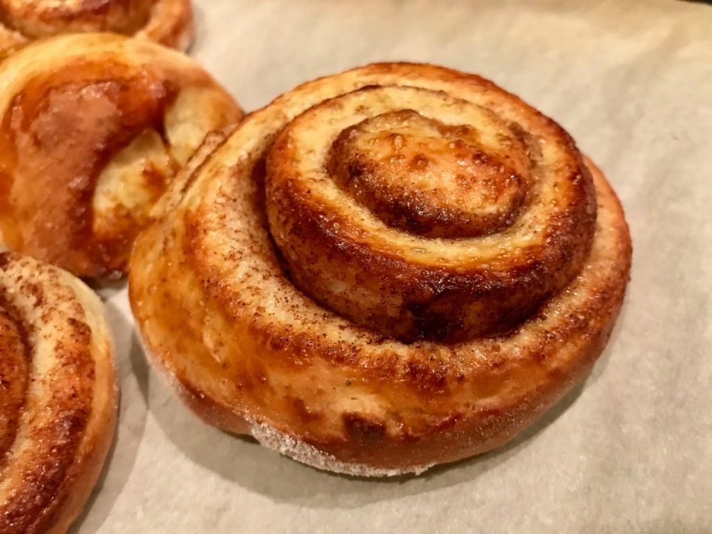 How to make Norwegian skillingsboller, or cinnamon buns