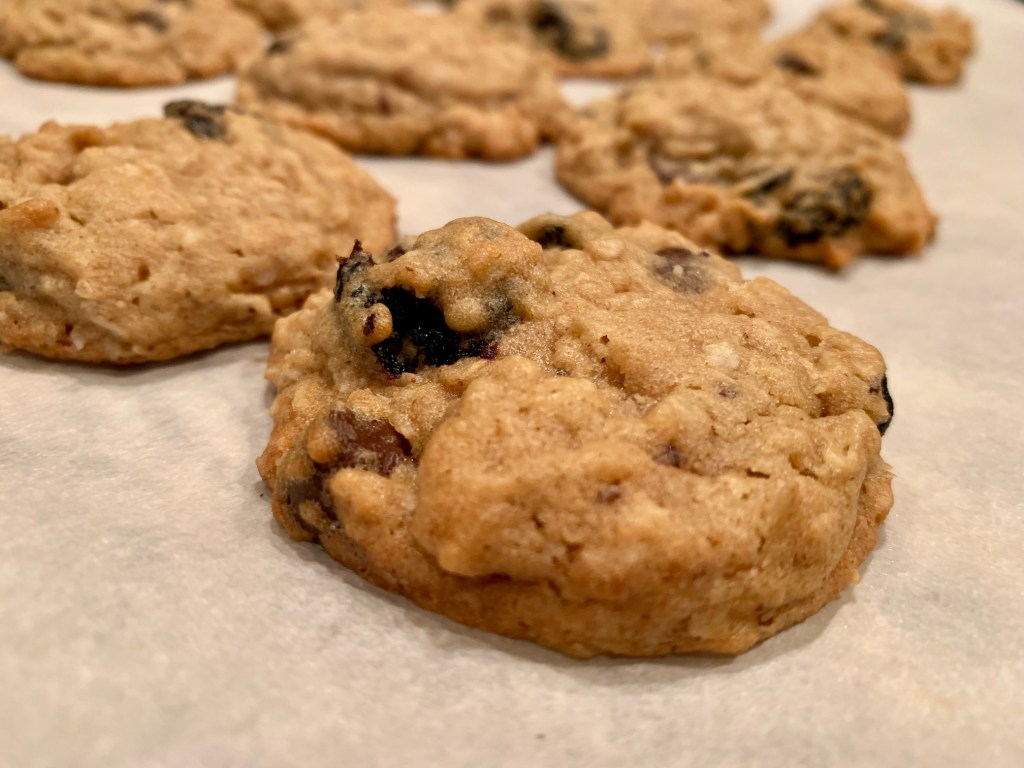 cherry chocolate cookies with almond extract