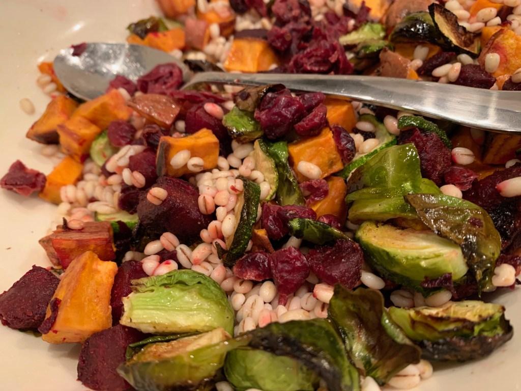 Grain and Roasted Vegetable Salad