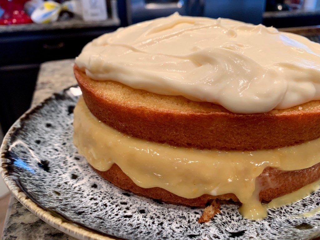 Delicious fresh grapefruit cake recipe - finding time for cooking