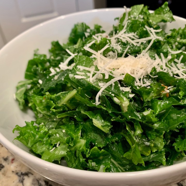 Basic, Delicious, & Easy Kale Salad