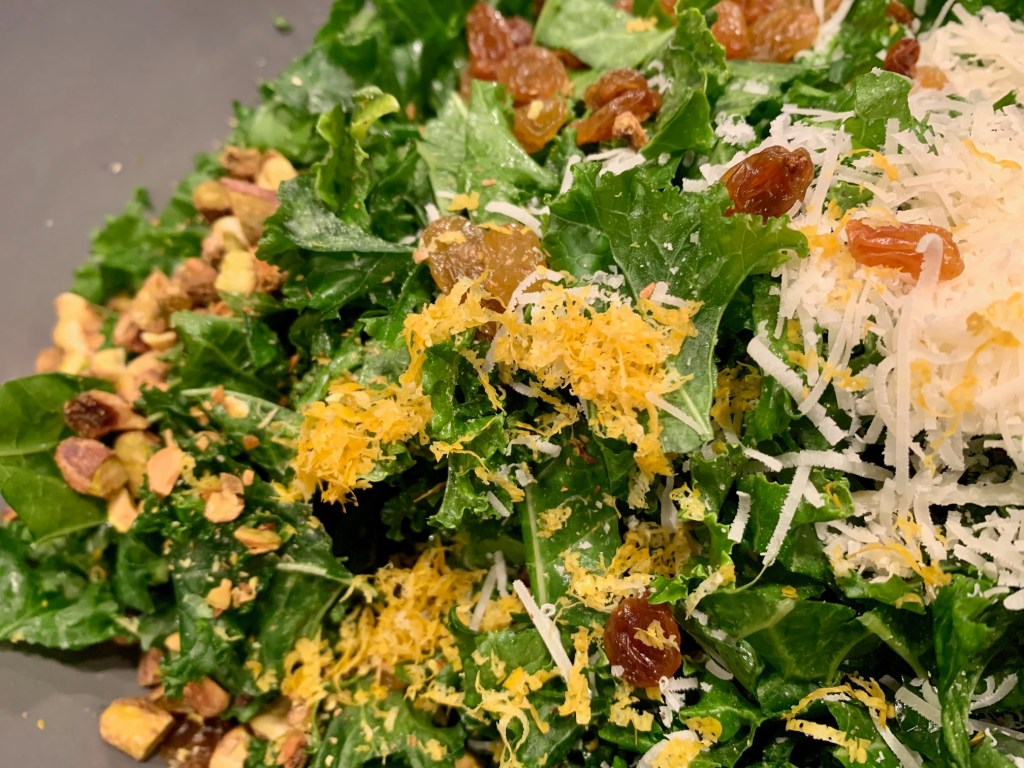 This easy kale salad has tons of flavor and is simple to throw together