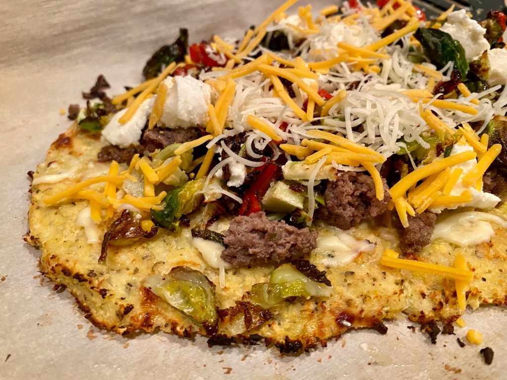 How to make this traditional cauliflower crust pizza
