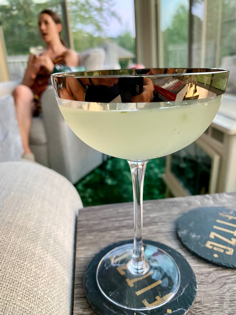 """""""Verdant Lady"""", an Easy Gin & Green Chartreuse Cocktail 