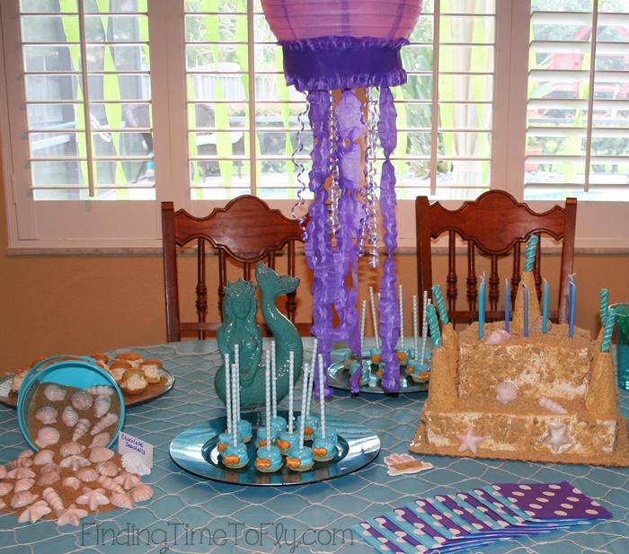 Mermaid-Party-Table