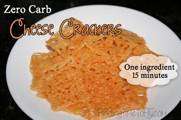 No Carb Cheese Crackers Recipe