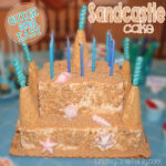 Make A Sandcastle Cake (Quick and Easy!)