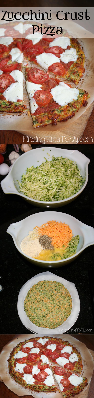 Zucchini Crust Low Carb Pizza-vert