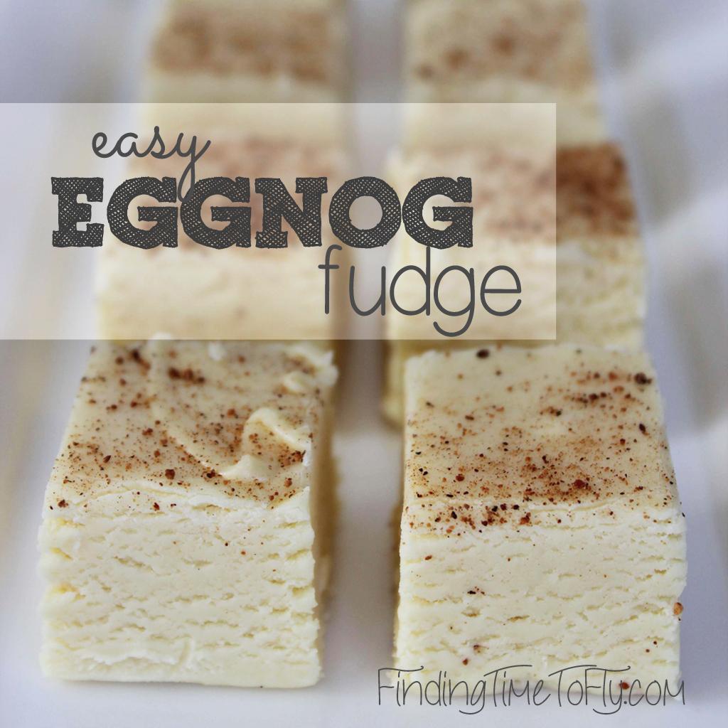 Easy Eggnog Fudge 1024