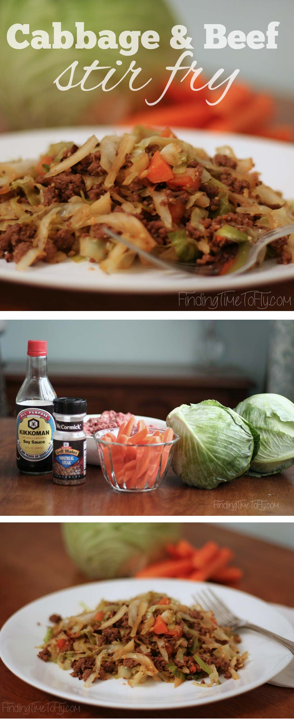 This Cabbage and Beef Stir Fry is a great-tasting, low carb, filling dinner. Even my kids love this stuff!