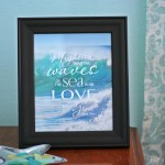 Free Printable Bible Verse – Mightier Than The Waves of the Sea