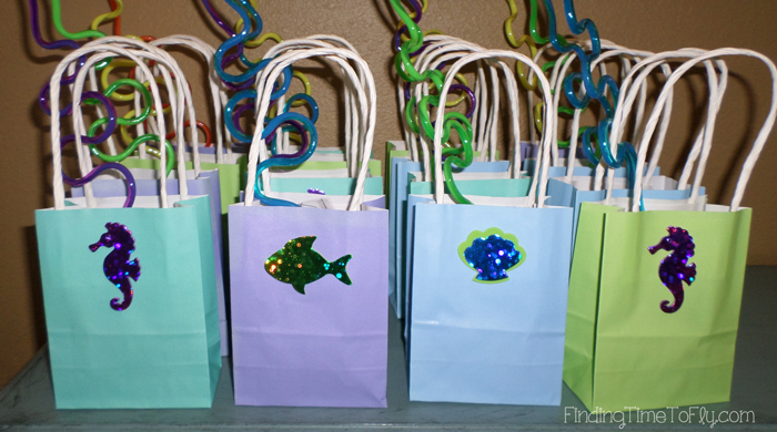 Mermaid Under The Sea Birthday Party Gift Bags