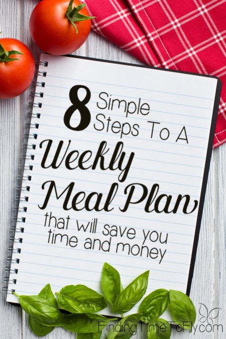 weekly meal plan