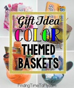 Color Themed Basket collage