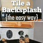 How To Tile a Backsplash Using Simple Mat