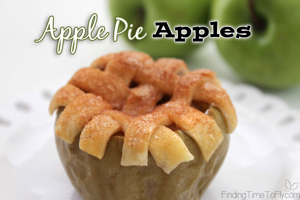 Healthier Apple Pie! These Apple Pie Apples are under 250 calories! My mouth is watering!